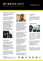 WAFES Newsletter 2