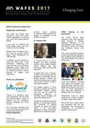 WAFES Newsletter 3